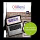 app menu electrónico